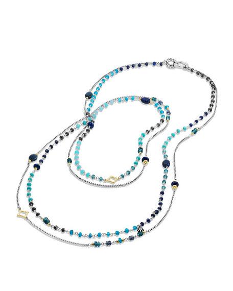 "David Yurman Spring Bead Layering Necklace, 42"""