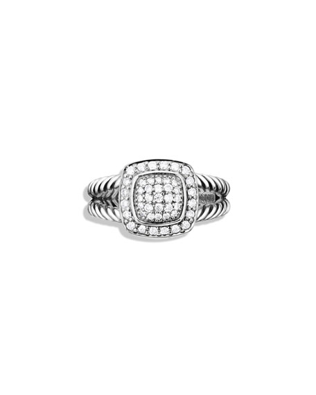Image 1 of 2: Petite Albion Ring with Diamonds