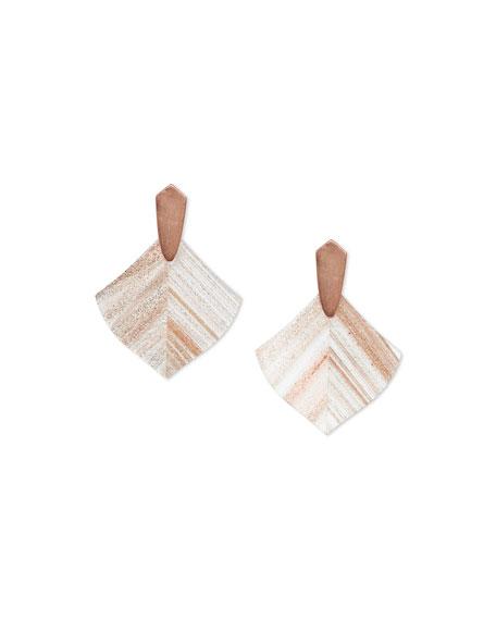 Kendra Scott Astoria Earrings w/ Dusted Glass