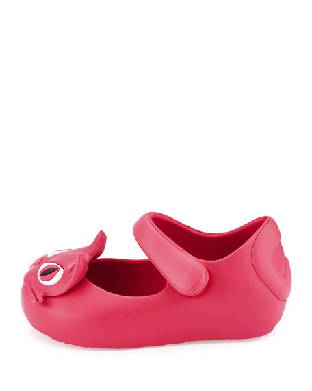Mini Ultragirl II Cat-Face Jelly Mary Jane, Toddler Sizes 5-10