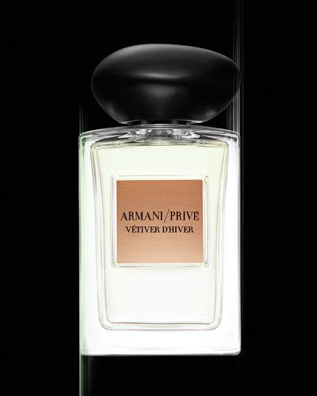 Giorgio Armani Prive Vetiver D'Hiver Eau De Toilette, 3.4 oz./ 100 mL