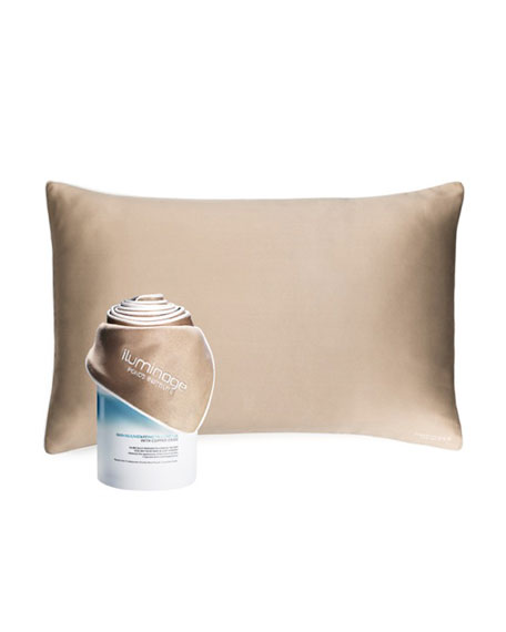 Iluminage Beauty Skin Rejuvenating Pillowcase with Patented Copper Technology