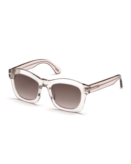 Sunglasses Tom Ford  tom ford greta square sunglasses pink