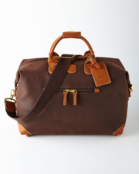 "Brown MyLife 18"" Duffel"