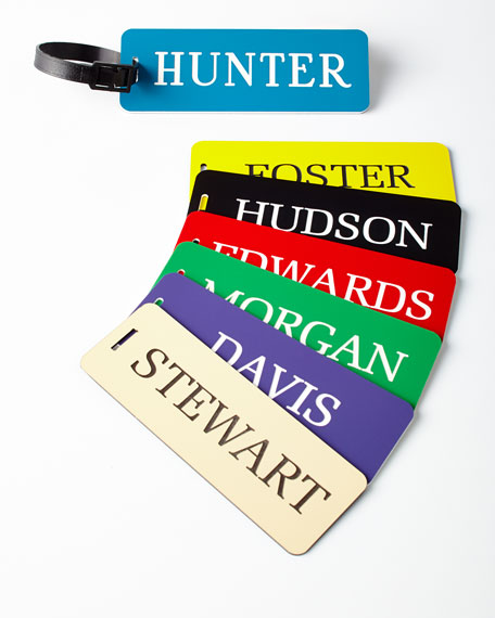 One Large Luggage Tag