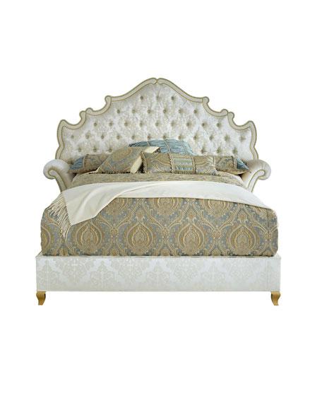 Haute House Daniella Tufted King Bed