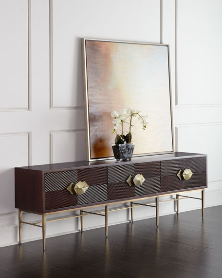 Global Views Byron Entertainment Console