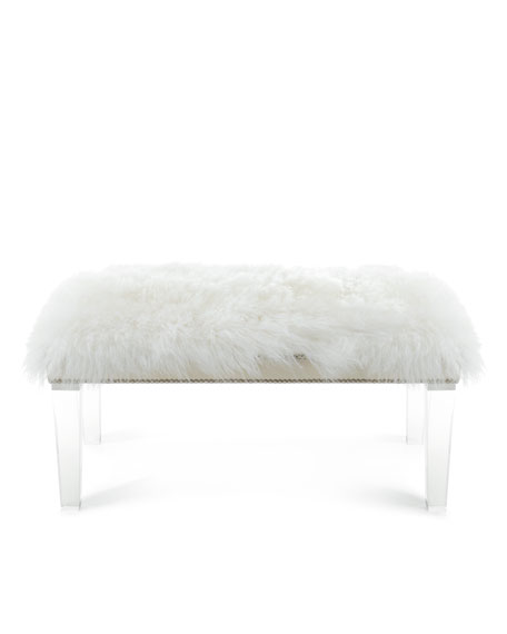 Massoud Alala 60 L Sheepskin Bench