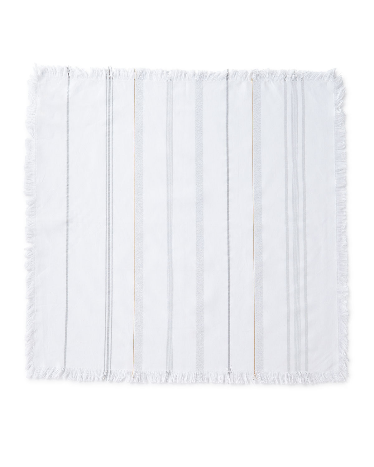 Juliska Variegated Metallic Stripe Napkin