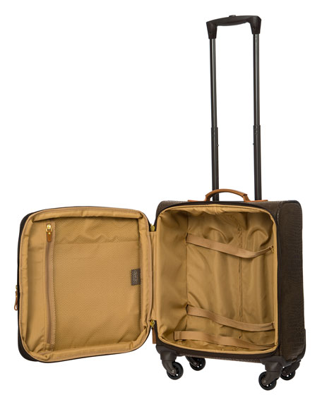 """Bric's My Safari 20"""" Wide-Body Carry-On Spinner  Luggage"""