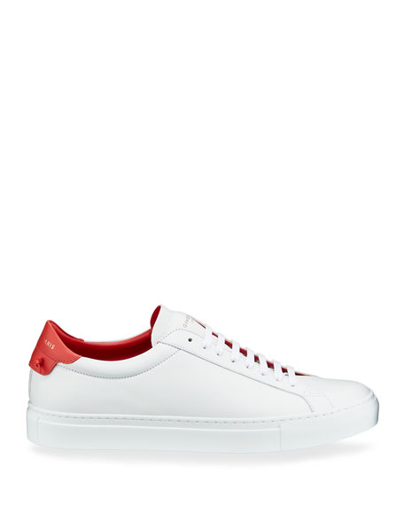 Image 3 of 4: Givenchy Men's Urban Street Leather Low-Top Sneakers
