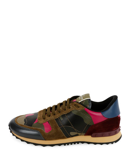 Men's Rockrunner Camo Sneakers