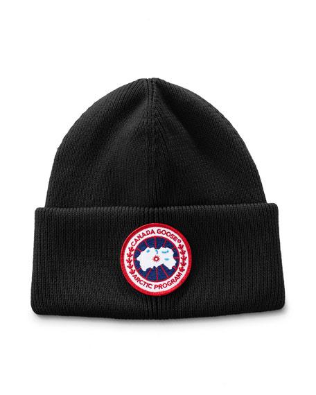 Canada Goose Men's Arctic Disc Toque Knit Beanie