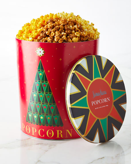 Neiman Marcus NM 2017 Annual Popcorn Tin