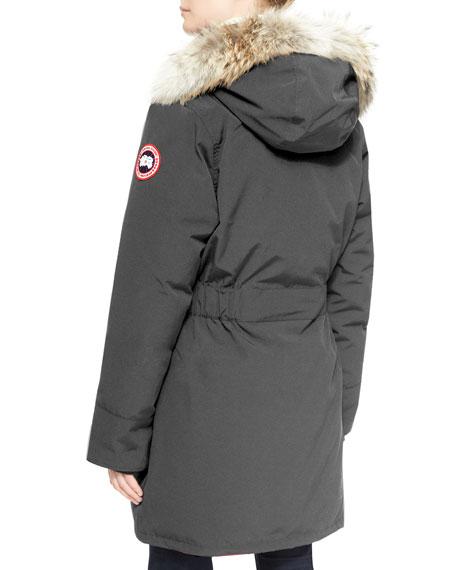 Canada goose trillium fur hood parka jacket