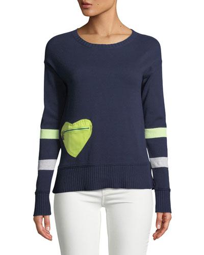 Heartthrob Cotton-Cashmere Sweater