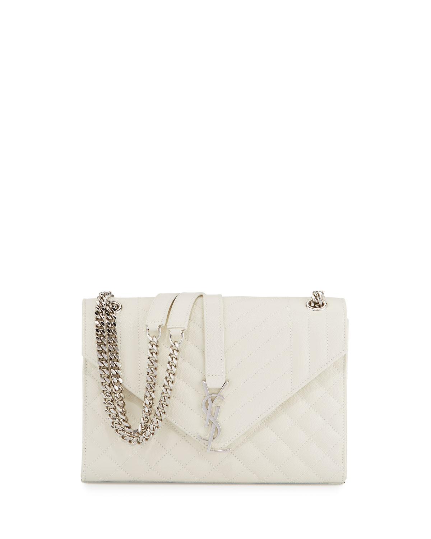 3fd4d4a78d Kate Monogram Medium Mixed-Matelassé Chain Shoulder Bag