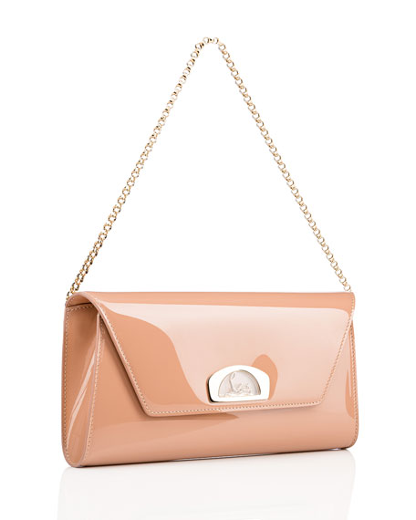 Image 2 of 4: Vero Dodat Classic Leather Clutch Bag