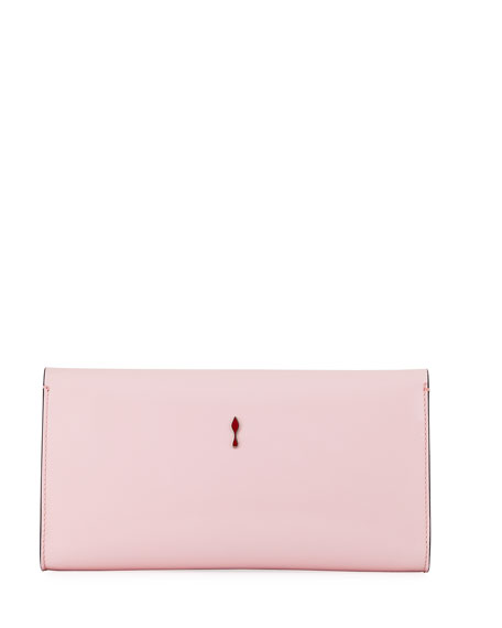 Image 3 of 4: Vero Dodat Classic Leather Clutch Bag
