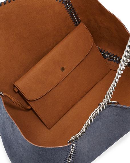 Falabella Medium Shaggy Deer Reversible Tote Bag