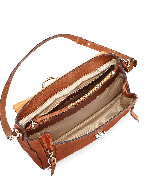 Day Shoulder Medium Faye Mixed Flap Bag Aj35L4qR