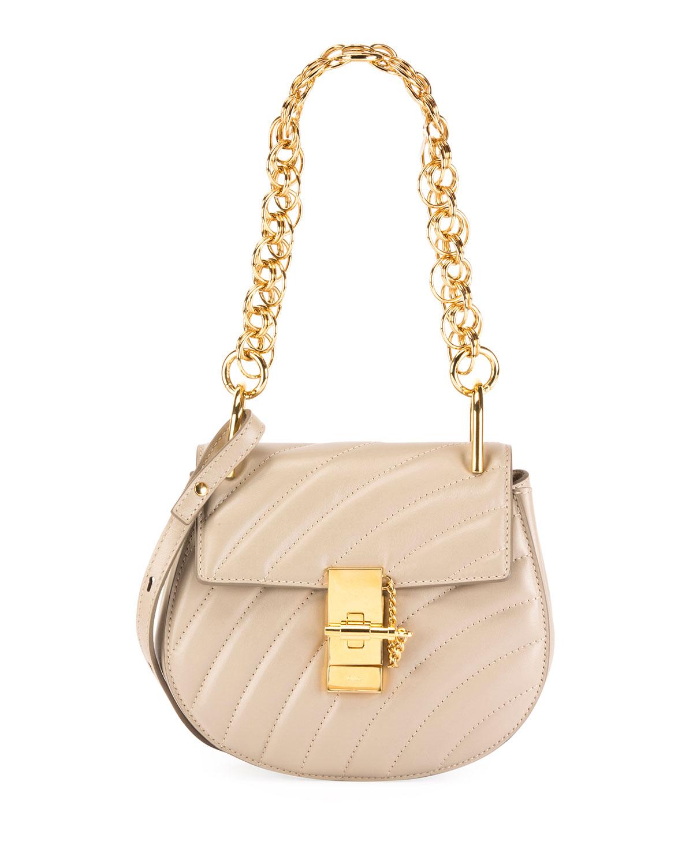 77a7d474859 Chloe Mini Drew Bijou Shoulder Bag