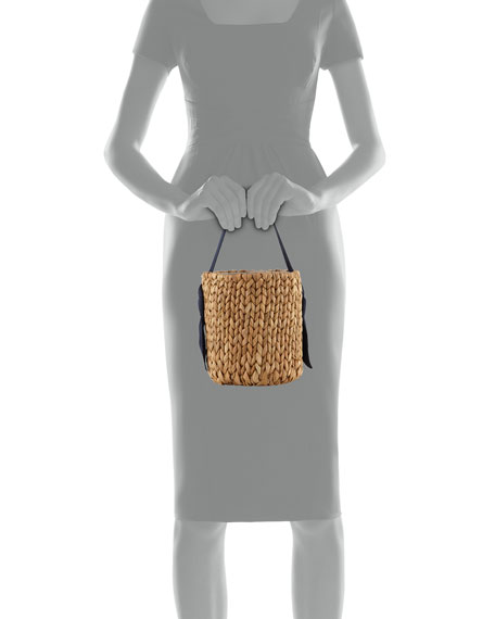 Pamela Munson Isla Bahia Petite Basket Tote Bag