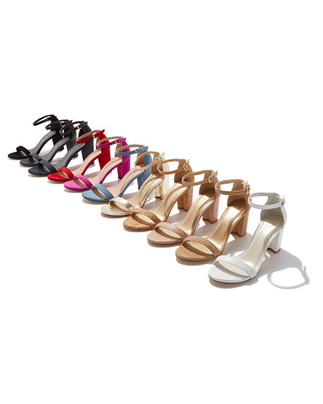 Nearlynude Suede City Sandal