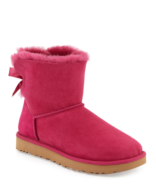 b541e622a29 Mini Bailey Bow II Shearling Fur Boots