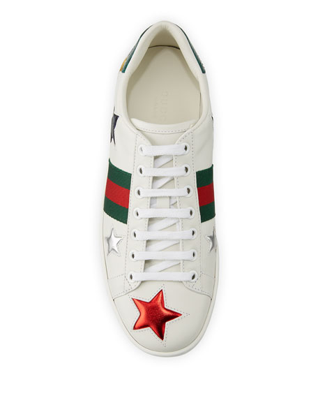 0892d75db70 Image 3 of 4  Gucci New Ace 5mm Star Sneaker