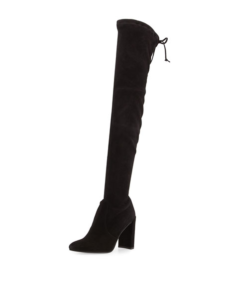 Image 1 of 5: Highchamp Suede Over-the-Knee Boot
