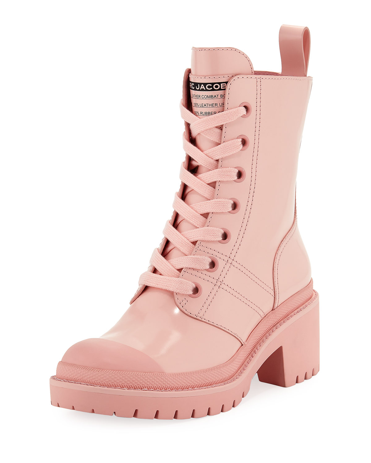 Marc Jacobs Bristol Lace-Up Chunky-Heel