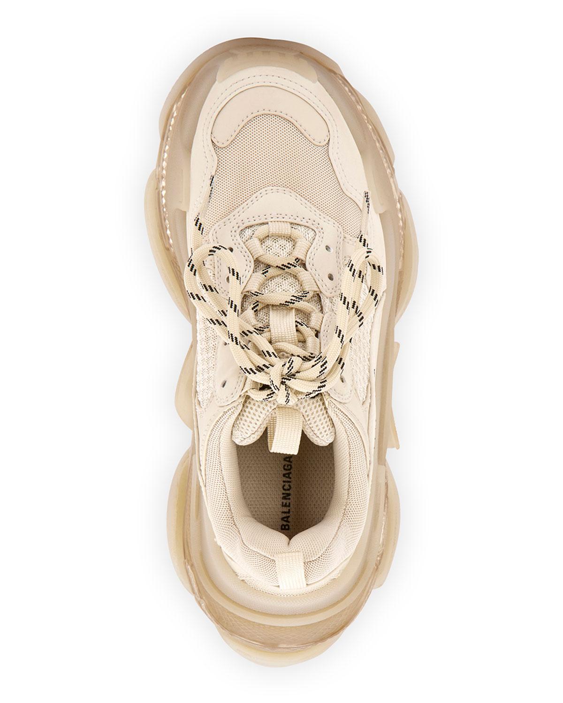 Spot Balenciaga Triple S x Nike VaporMax Laos Steam