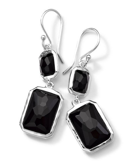 Ippolita Sterling Silver Wonderland Rectangular Mini-Drop Earrings