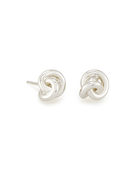 Image 1 of 1: Presleigh Knotted Stud Earrings
