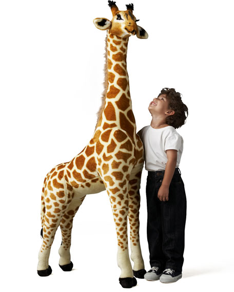 Giant Stuffed Giraffe