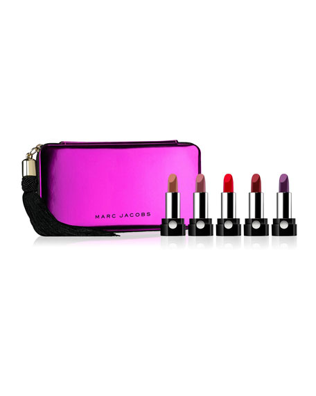 Limited Edition Up All Night 5-Piece Petites Le Marc Lip Crème Set