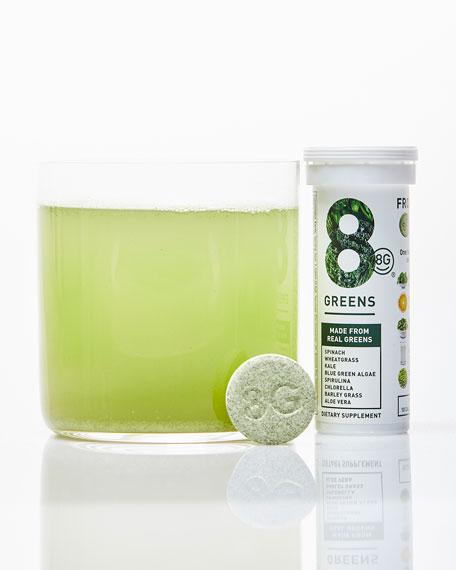 8 Greens Effervescent Dietary Supplement, 10 Tablets