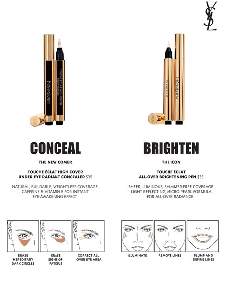Yves Saint Laurent Beaute Touche Eclat All-Over Brightening Pen