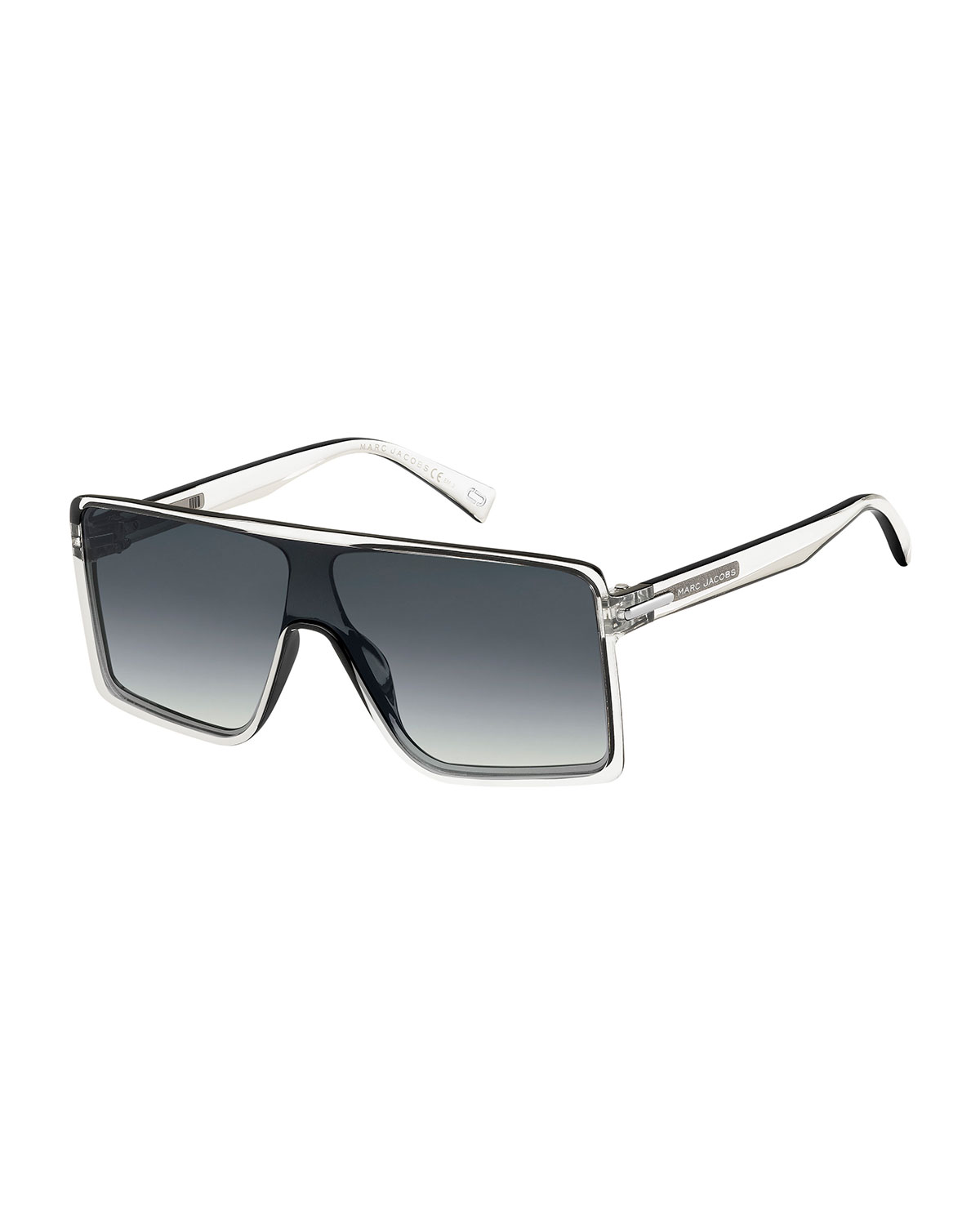 ad699fffccc79 Marc Jacobs Oversized Shield Sunglasses