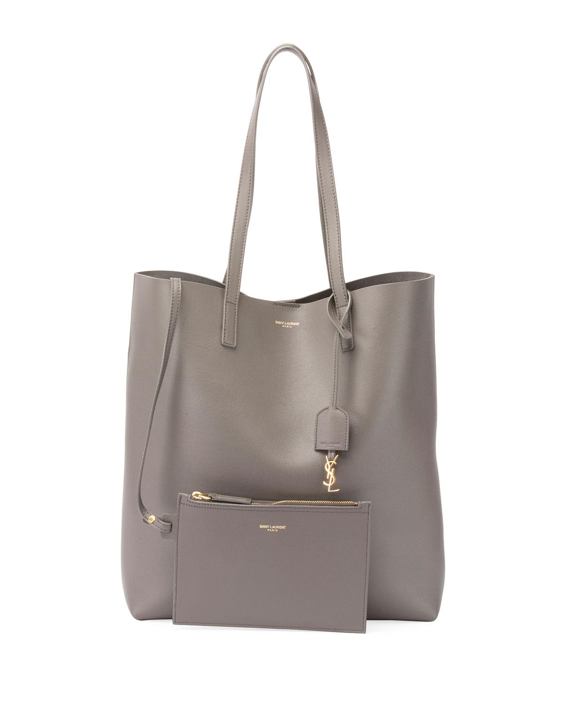 Saint Laurent Medium North-South Shopping Tote Bag ...