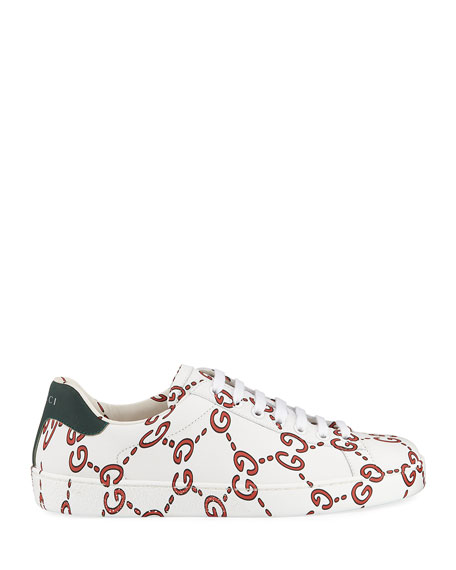Gucci Ace Sneaker with GG Print
