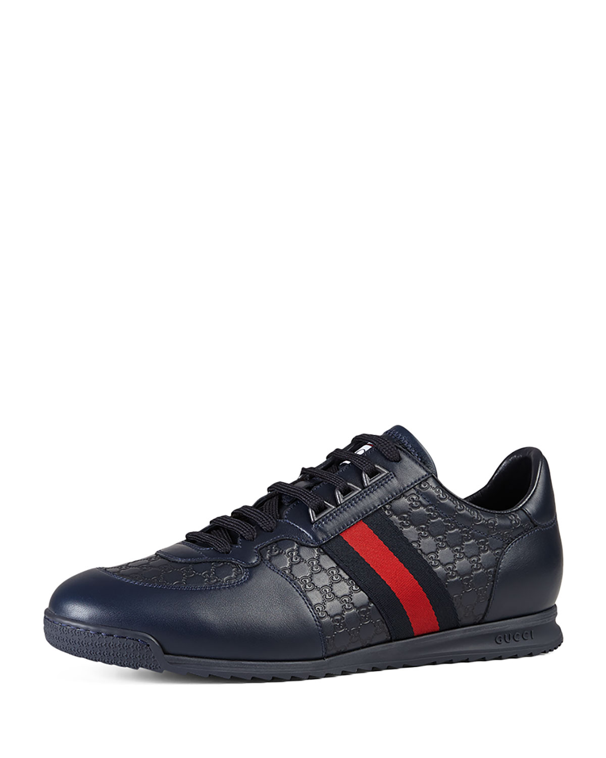 c4d95ab0a62 Gucci Men s SL73 Lace-Up Sneakers