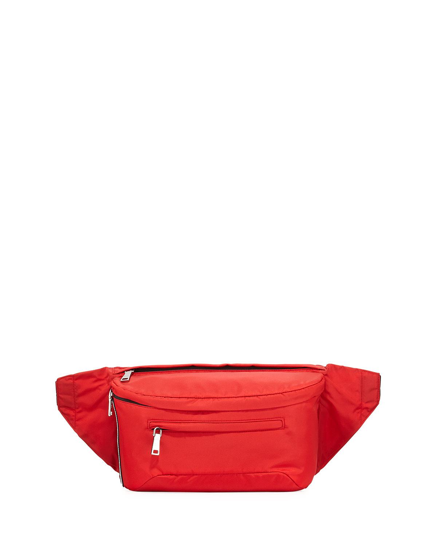 e53152349462 Prada Solid Nylon Belt Bag   Neiman Marcus