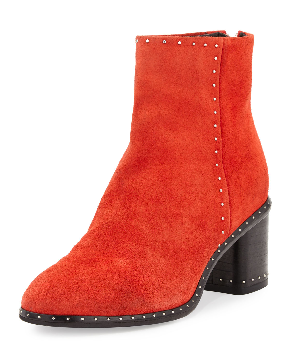 255b41eff65 Rag   Bone Willow Studded Leather Ankle Boot