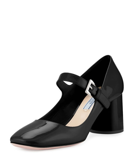 Prada Woven Leather Mary Jane Pumps new arrival cheap price countdown package sale online buy cheap big sale Q12KCuuo