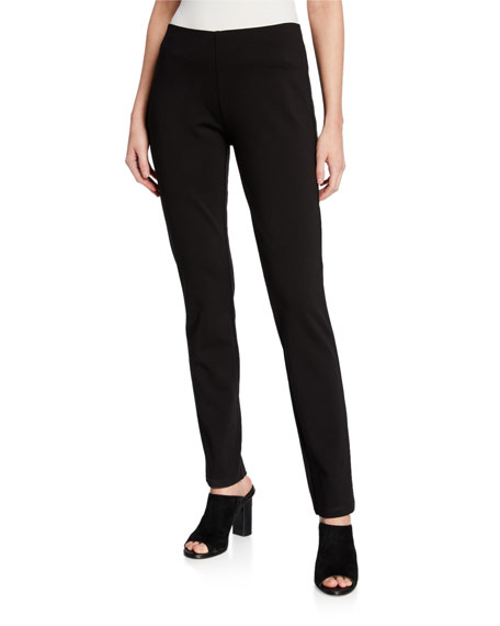 Eileen Fisher Slim Ponte Pants