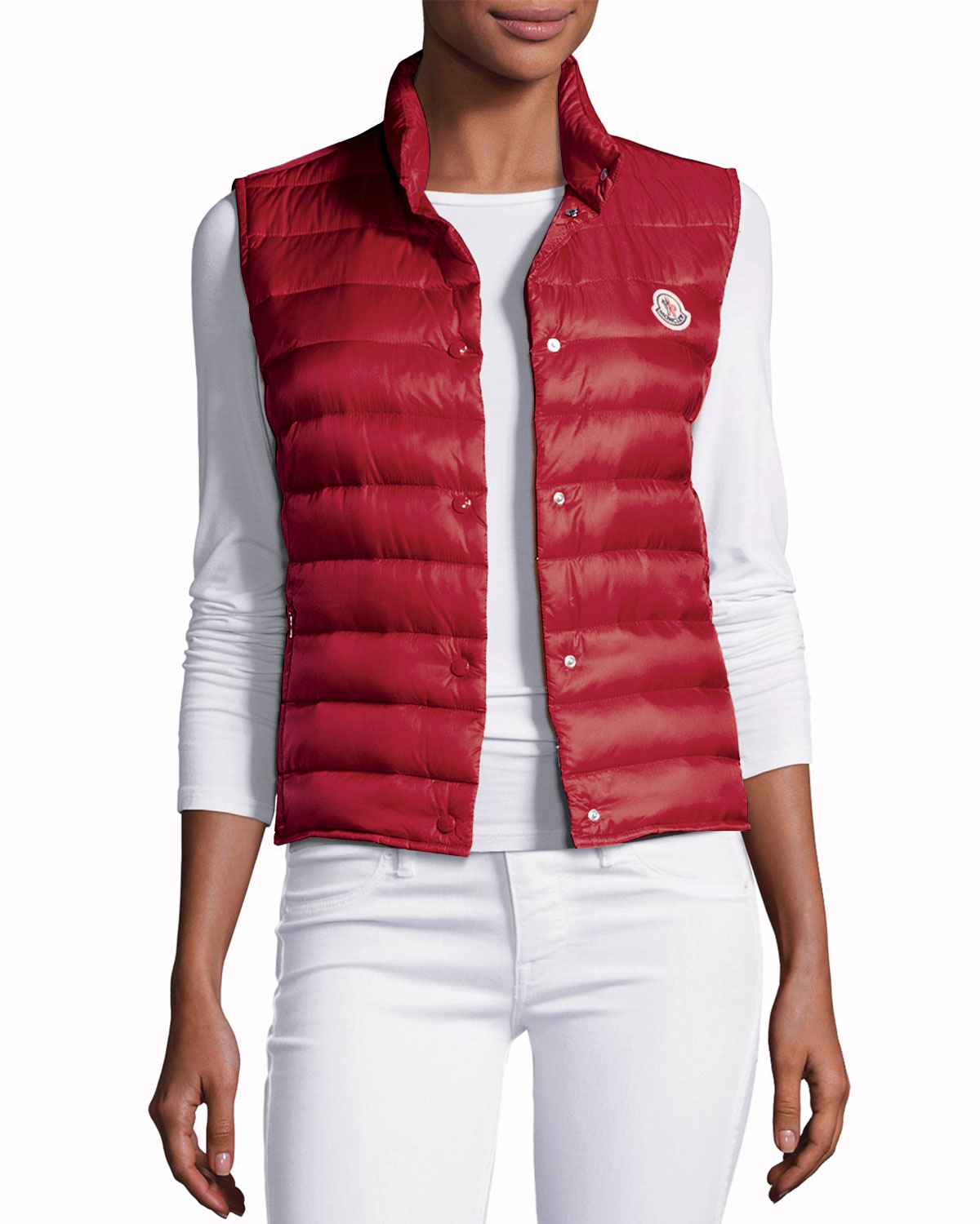 fec8783ada08 Moncler Liane Quilted Down Gilet
