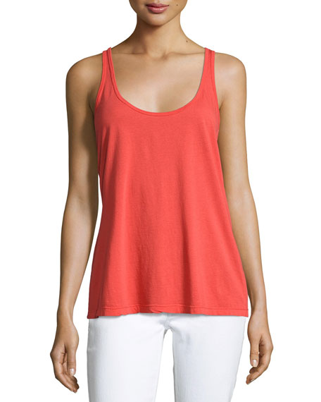 Scoop-Neck Cotton/Modal Tank