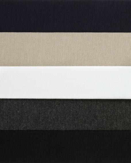 Soft Touch Marrow-Edge Long-Sleeve Top